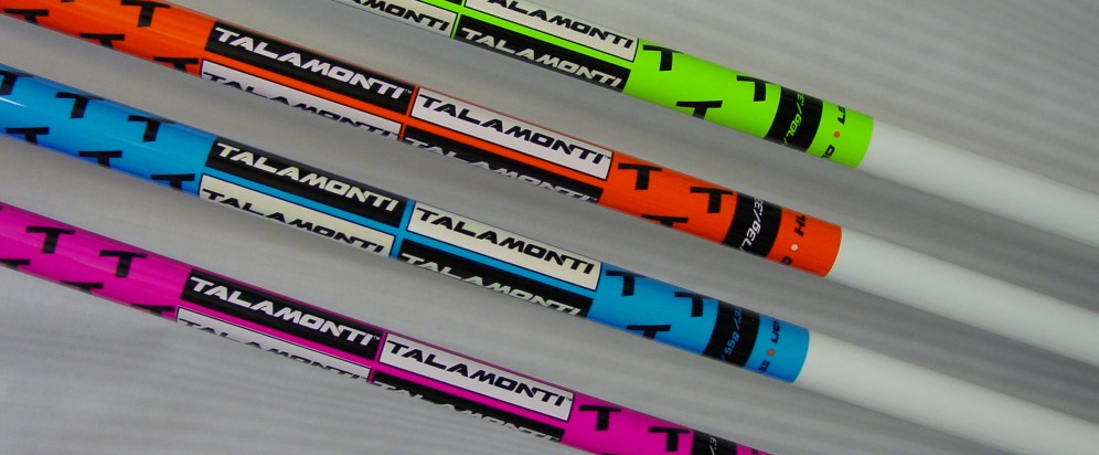 Talamonti LS-70 (Green), HL-70 (Orange), Light-55 (Blue), and HTS Hybrid Series (Magenta)